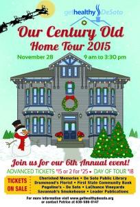 Christmas Home Tour Poster 2015